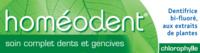Boiron Homéodent Soin Complet Dents Et Gencives Pâte Dentifrice Chlorophylle 2t/75ml à DURMENACH