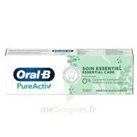 Oral B Pureactiv Dentifrice Soin Essentiel T/75ml à DURMENACH