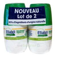 Etiaxil Végétal Déodorant 24h 2roll-on/50ml à DURMENACH