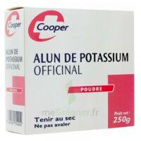 COOPER ALUN POTASSIUM Poudre B/250g à DURMENACH