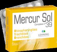 Lehning Mercur Sol Complexe N°39 Comprimés Sublinguals B/60 à DURMENACH
