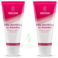 Weleda Duo Pâte Dentifrice Au Ratanhia 150ml à DURMENACH
