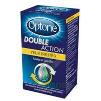 Optone Double Action Solution Oculaire Yeux Irrités Fl/10ml Promo à DURMENACH