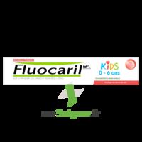 Fluocaril Kids Dentifrice Fraise 0-6 Ans T/50ml à DURMENACH