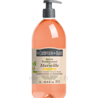 Savon De Marseille Liquide Fleur D'oranger 1l à DURMENACH