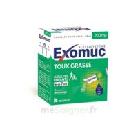 EXOMUC 200 mg glé usage oral en sachet 15 Sachets/2g à DURMENACH
