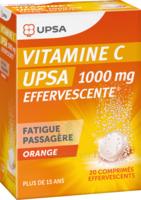 Vitamine C Upsa Effervescente 1000 Mg, Comprimé Effervescent à DURMENACH
