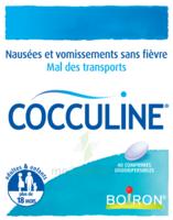 Boiron Cocculine Comprimés Orodispersibles B/40 à DURMENACH